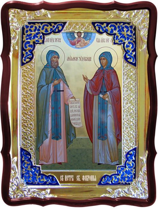 Лики святых и их значение в церкви Св. Петр и Феврония