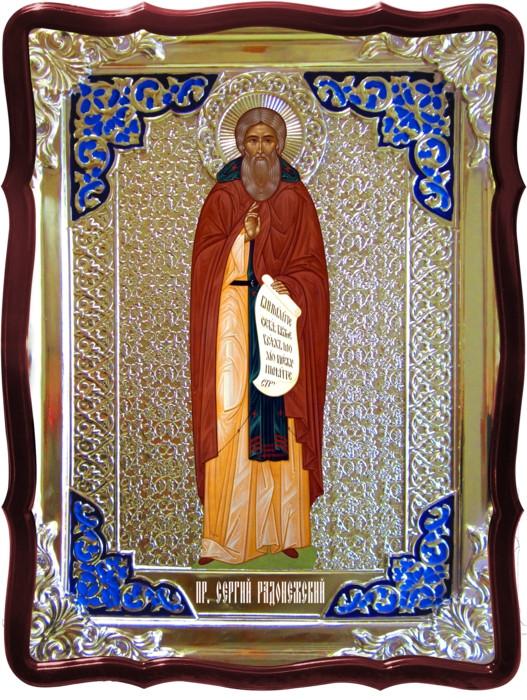 Иконки церковные в магазине:  Святой Сергий (византийская)