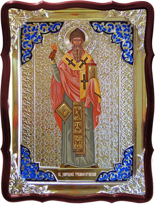 Православные святые на иконах - Святой Спиридон