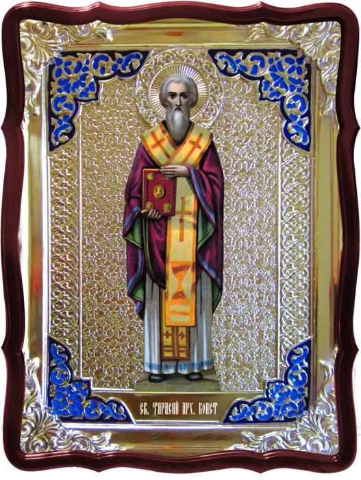 Иконы святых и их значение для прихожан: Святой Тарасий
