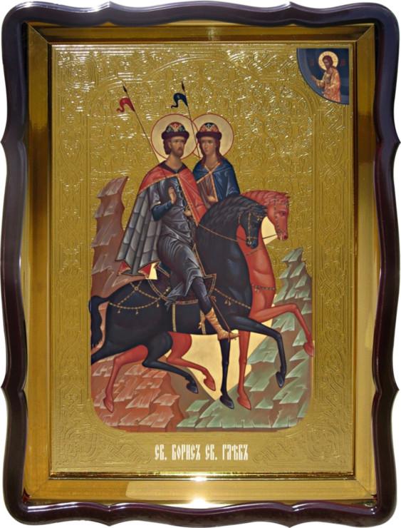 Икона Святой Борис и Святой Глеб в каталоге икон храмовых