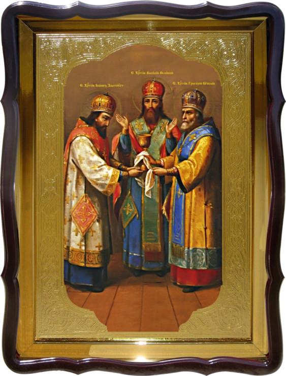 Икона Святые Святители Христовы для дома или храма