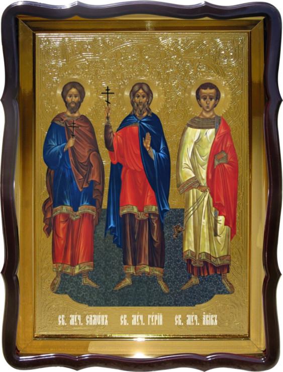 Икона православной церкви - Святой Самон