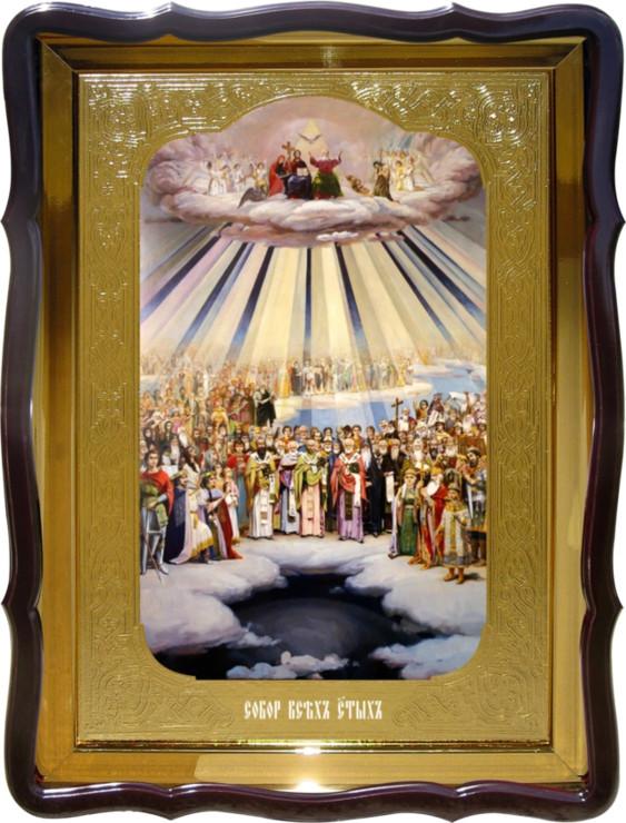 Икона Собор Всех Святых иконы святителей