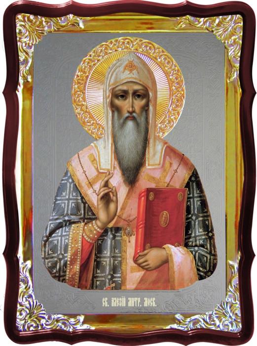 Икона Алексий митрополит Московский для храма