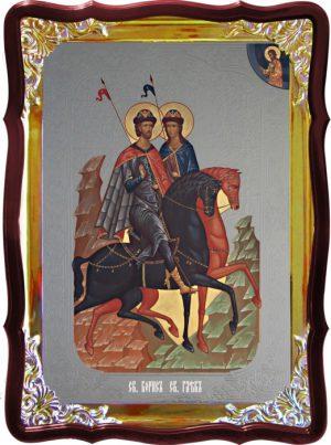 Икона Борис и Глеб для православной церкви