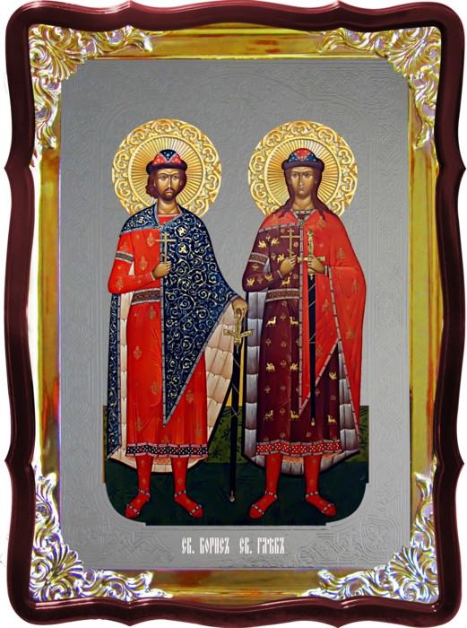 Православная икона Борис и Глеб для храма