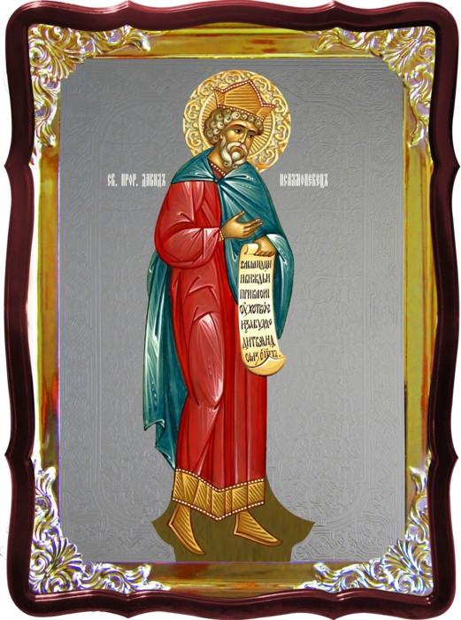 Церковная икона Давид пророк для храма