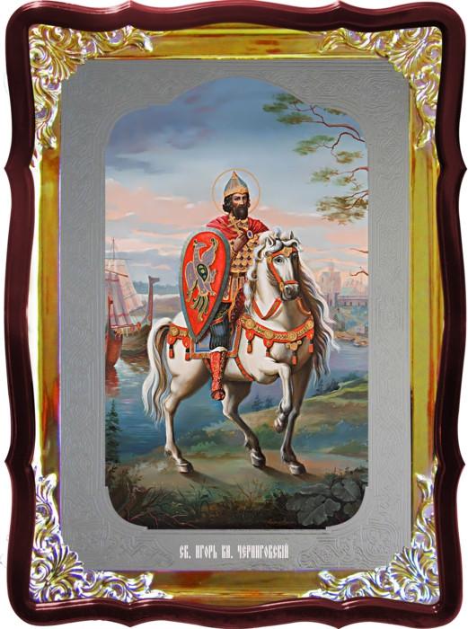 Икона православная Игорь Черниговский и другие иконы святителей