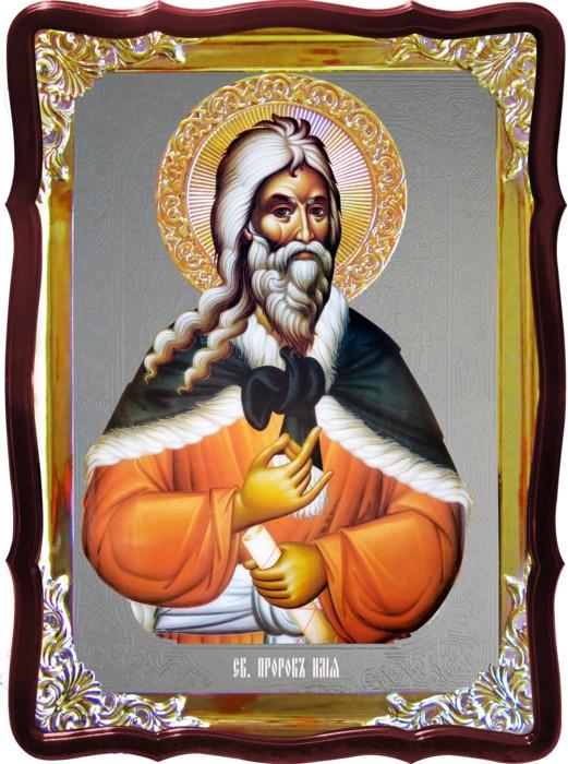 Икона православного святого Ильи пророка  на заказ