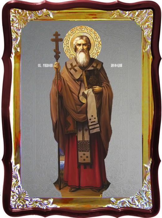 Икона православная Мефодий ростовая для дома или храма