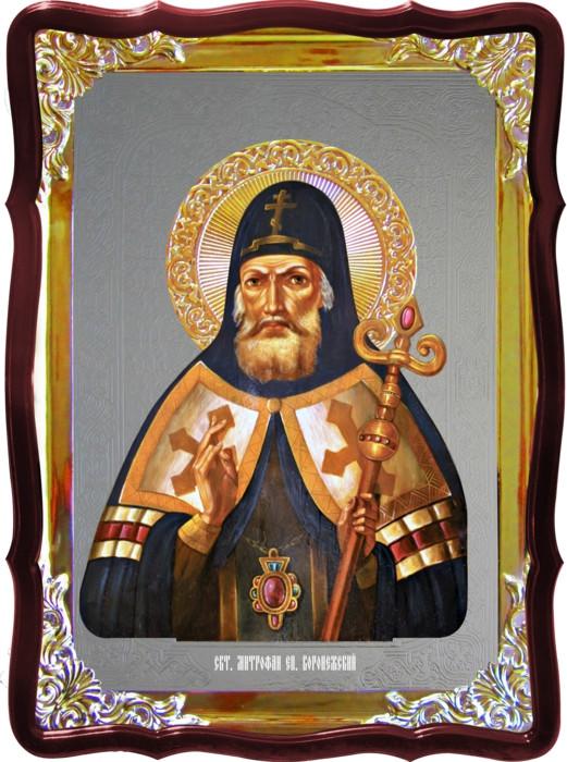 Икона православного святого Митрофан Воронежский в интернет магазине