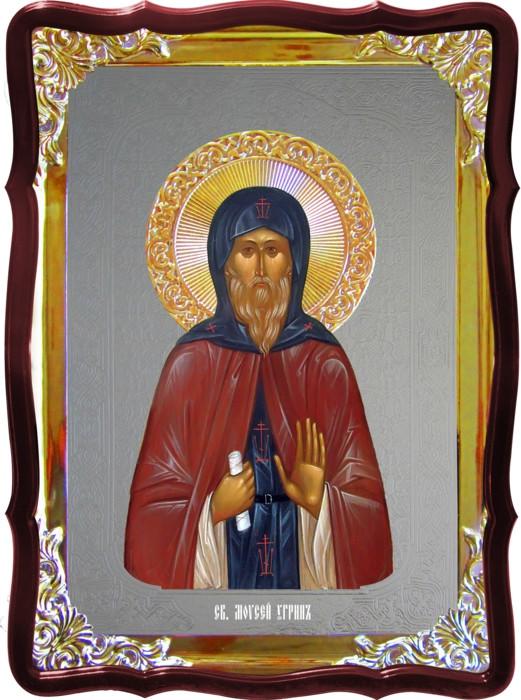 Церковная икона Моисей угрин и другие иконы святых