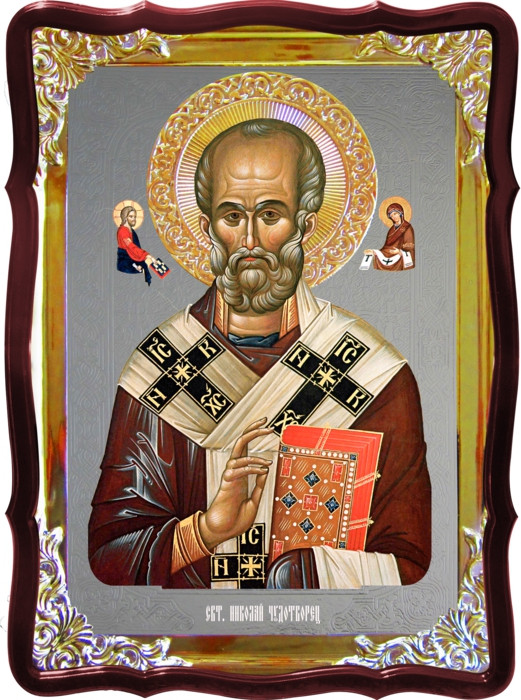 Икона православного святого Николай визант иконы святых
