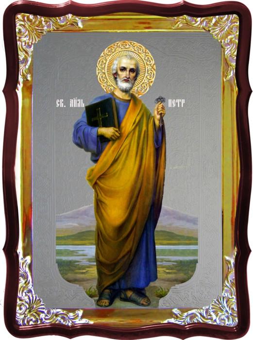 Икона Святой Петр ростовая для дома или храма