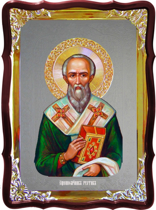 Икона Св. Рустик  на заказ