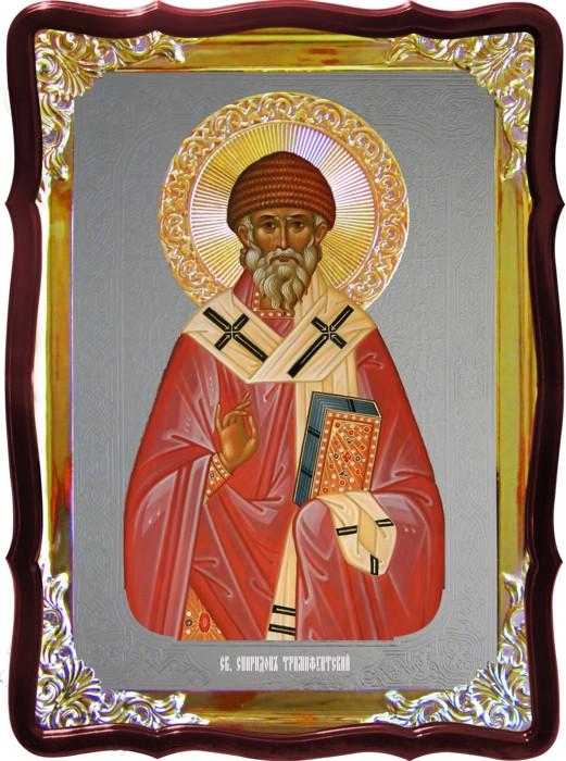 Икона православного святого Спиридона для храма