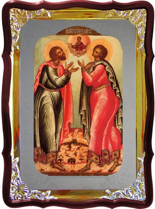 Икона Св. Флор и Лавр для дома или храма