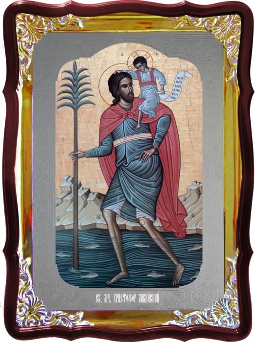 Икона православной церкви - Христофор Ликийский в каталоге икон