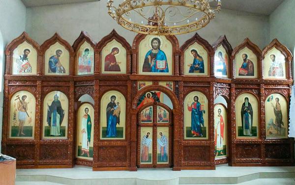 Иконостас для храма в старославянском стиле