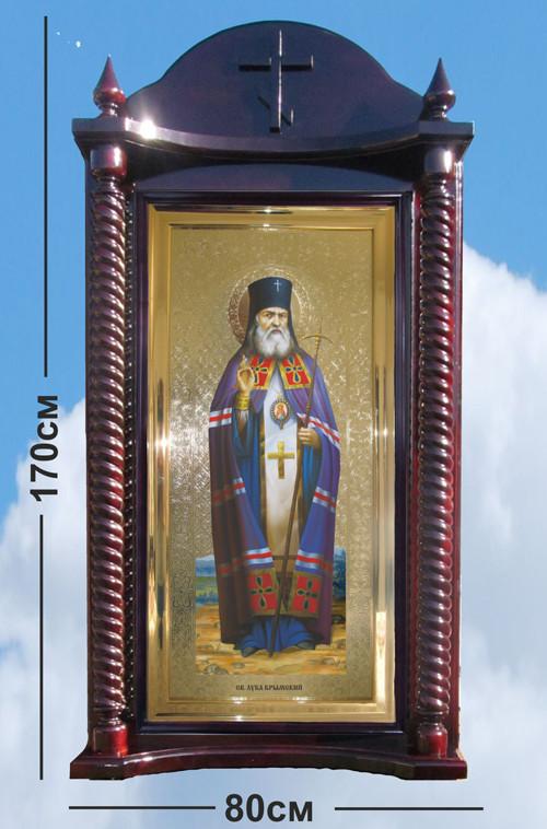 Напольные киоты для икон из дерева (цвет на выбор)