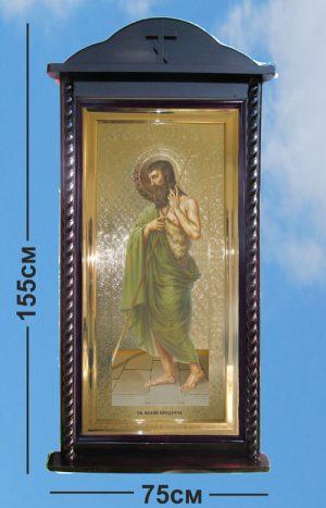 Киот напольный под заказ для икон из каталога для храма