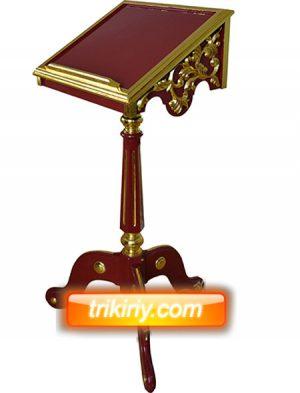 Храмовый аналой под Евангелие малый (цвет может быть другой)