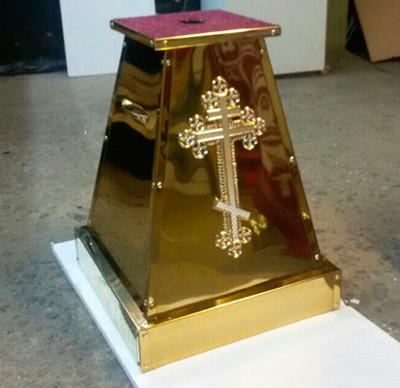 Подставка под хоругви или запрестольный крест