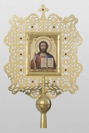 Икона средняя из латуни для церкви