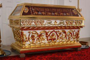 Гробница под плащаницу Спасителя (дерево