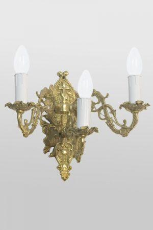 Светильник настенный большой на три рожка (литье)