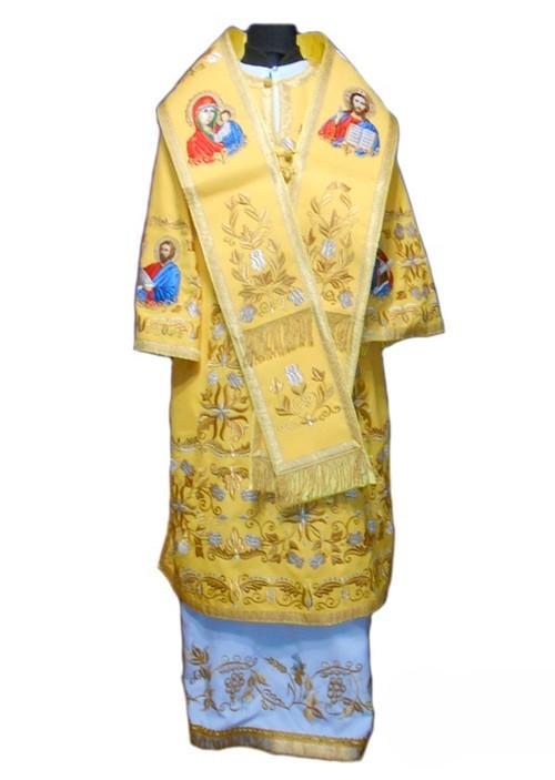 Церковное облачение заказать в мастерской по пошиву
