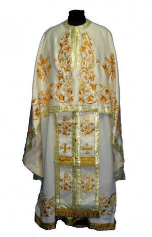 Одежда священника в греческом стиле с вышивкой