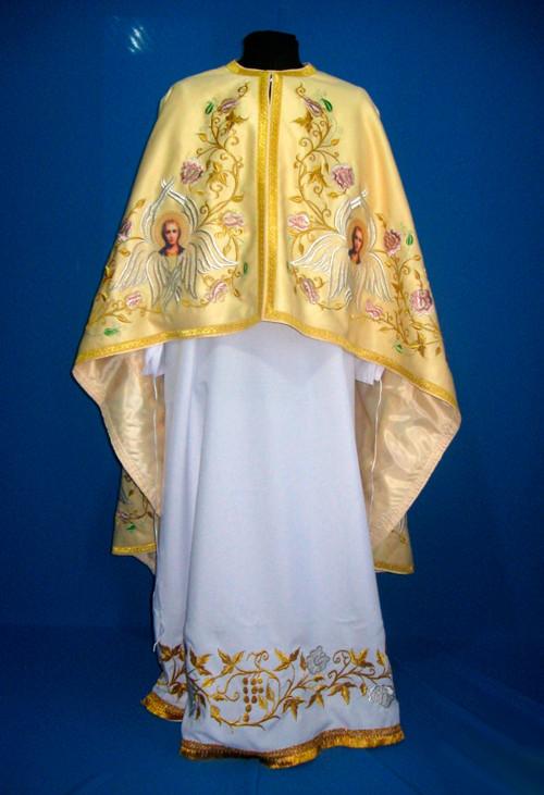 Парадное облачение священника с вышивкой