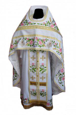 Облачение для священнка архиерея купить с вышивкой
