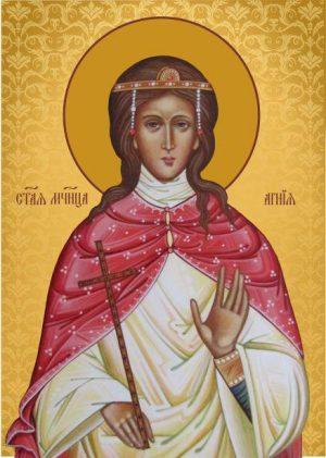 Ікона для дому Свята Агнія