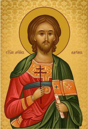 Ікона на дарунок Святий Адріан