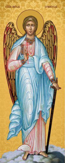 Ікона на дереві Ангел охоронець