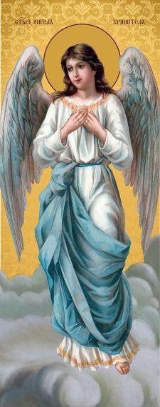 Ікона ручної роботи Ангел охоронець