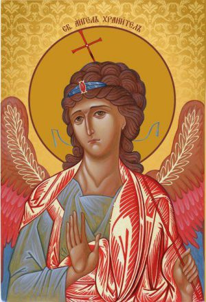 Ікона на замовлення Ангел охоронець
