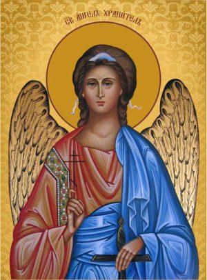 Ікона православна Ангел охоронець