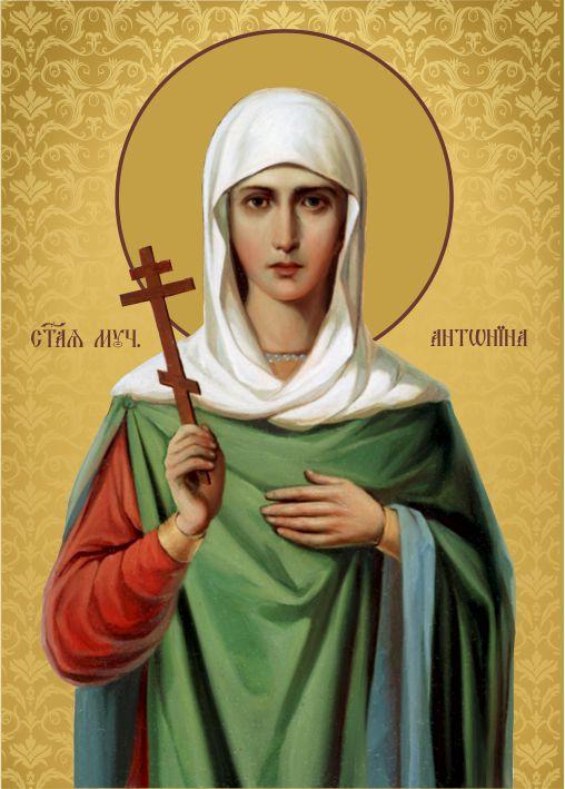 Ікона на дереві Свята Антоніна