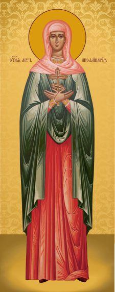 Ікона з росписом Свята Аполінарія
