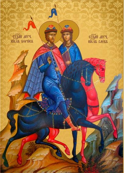 Ікона на замовлення Святі Борис та Гліб
