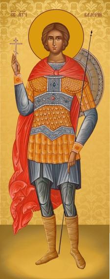 Ікона з росписом Святий Валерій