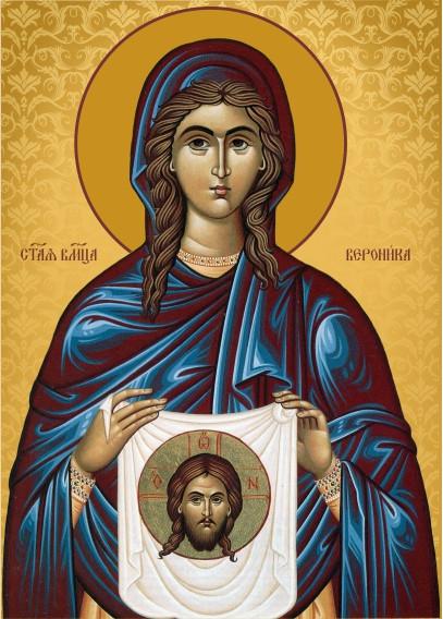 Ікона на дереві Свята Вероніка