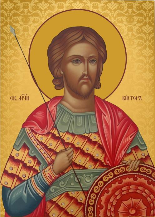 Ікона на замовлення Святий Віктор Римський