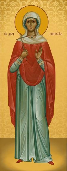 Ікона подарункова Свята Вікторія