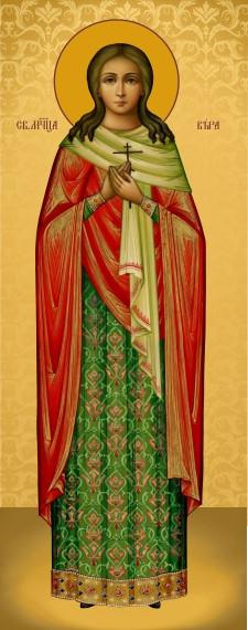 Ікона з росписом Свята Віра
