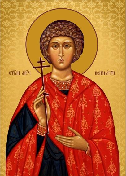 Ікона на замовлення Святий Воніфатій